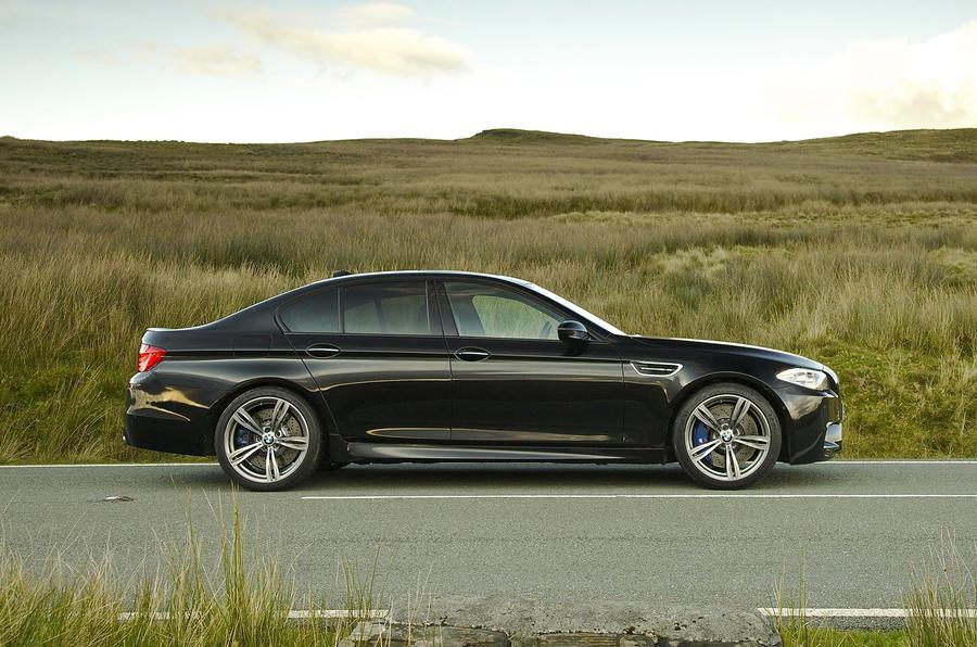 BMW M5 side profile