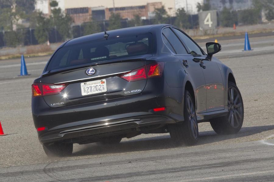 Lexus GS 450h rear