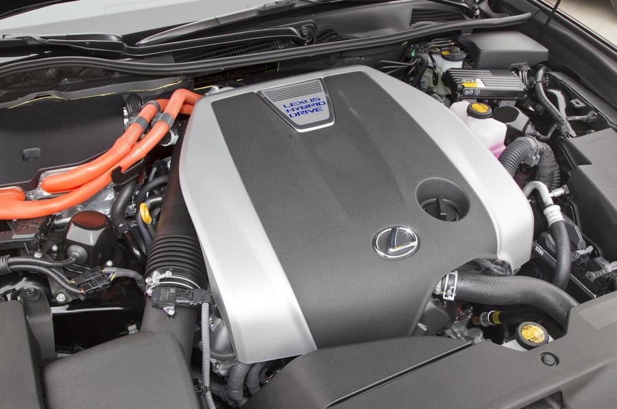 3.5-litre V6 Lexus GS 450h engine