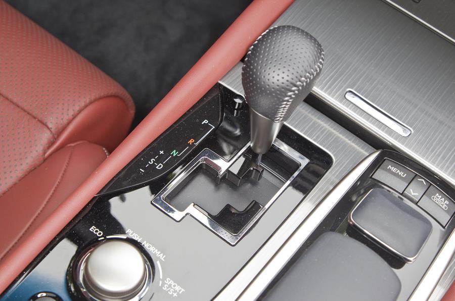 Lexus GS 450h CVT gearbox