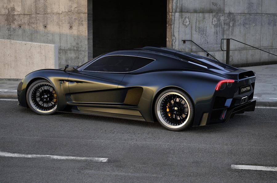 F&M Evantra supercar revealed