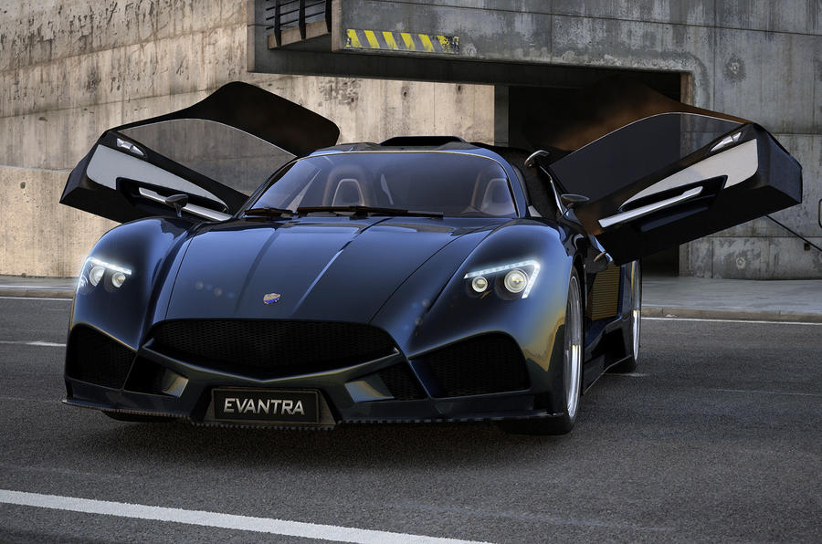 F&M Evantra supercar revealed