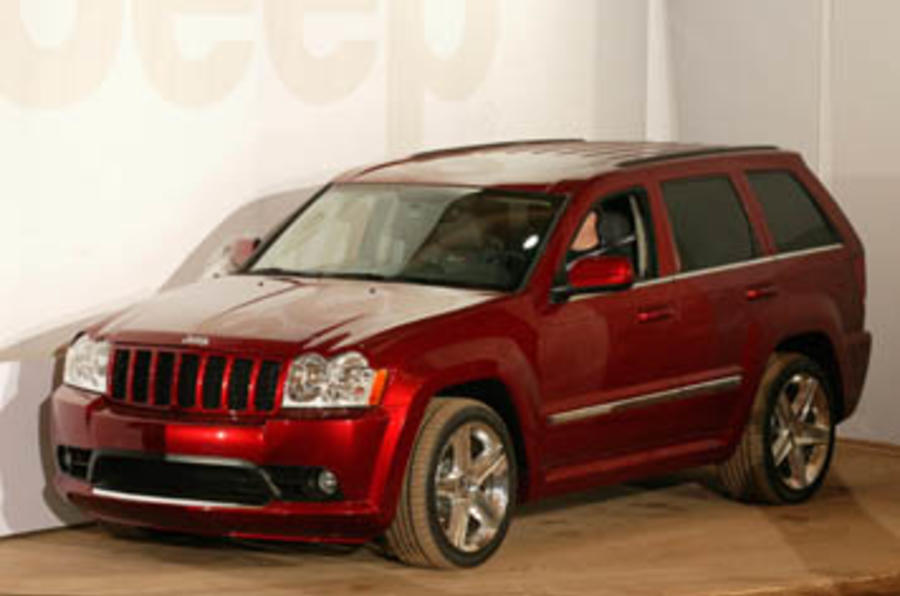 Attractive Jeep Grand Cherokee SRT 8 ...