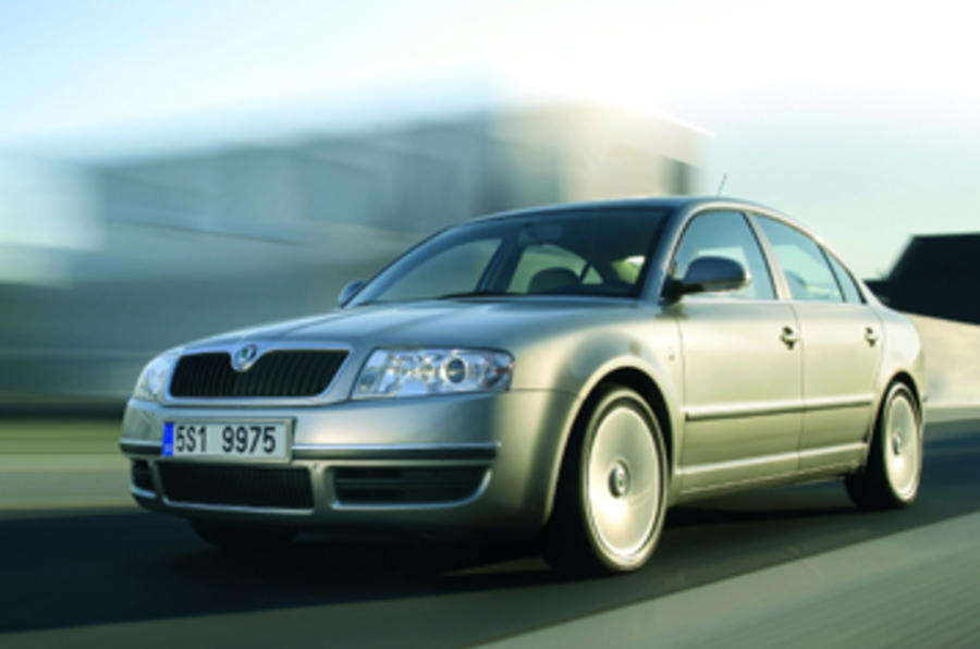 Skoda Superb 2.5 V6 TDI