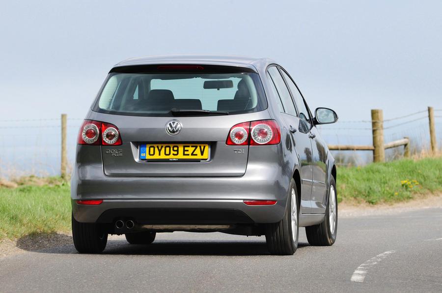 Volkswagen Golf Plus Bluemotion rear