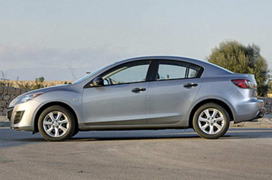 Mazda 3 1 6 Saloon Review Autocar