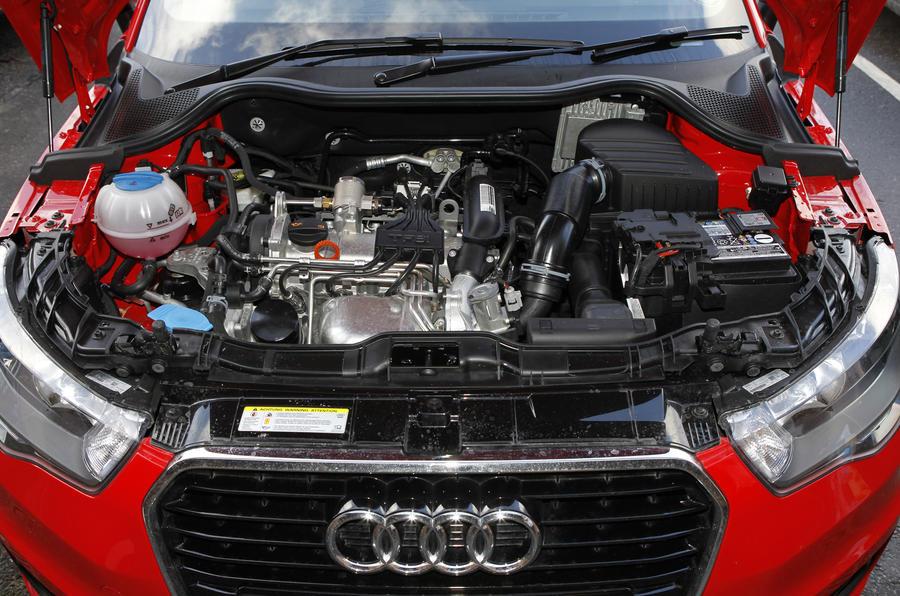 1.2-litre TFSI Audi A1 engine