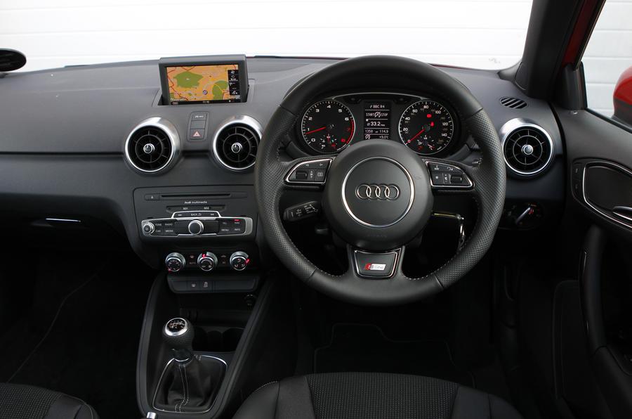 Audi A1 1.2 TFSI S Line dashboard