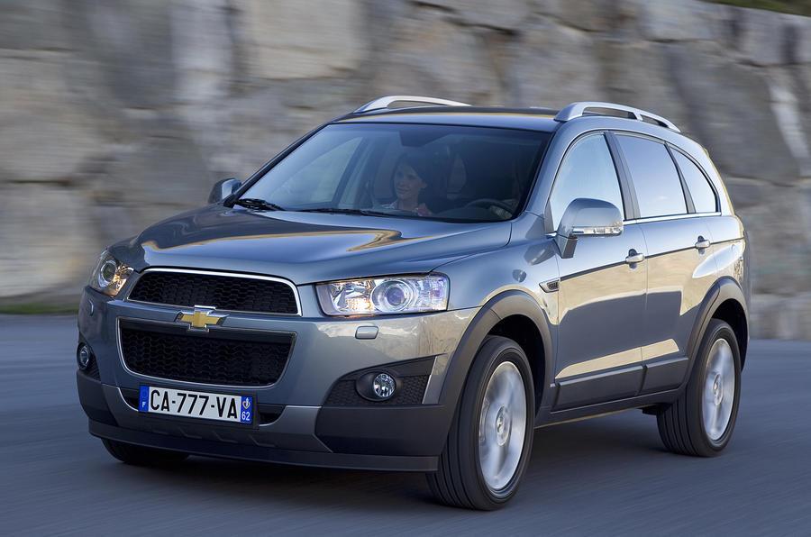 Chevrolet Captiva 2.2 VCDi 4x4 review | Autocar