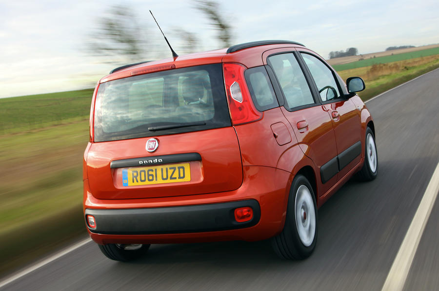 Fiat Panda rear