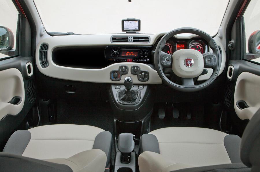 Fiat Panda dashboard
