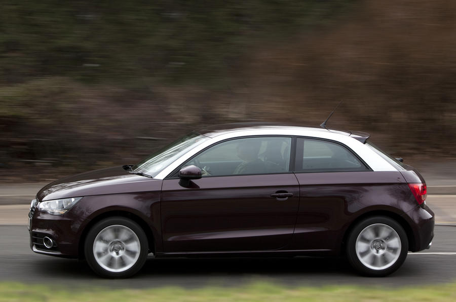 Audi A1 2.0 TDI Sport side profile