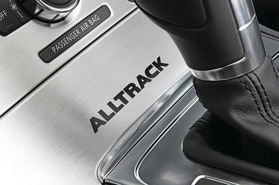 Volkswagen Passar Alltrack interior decals