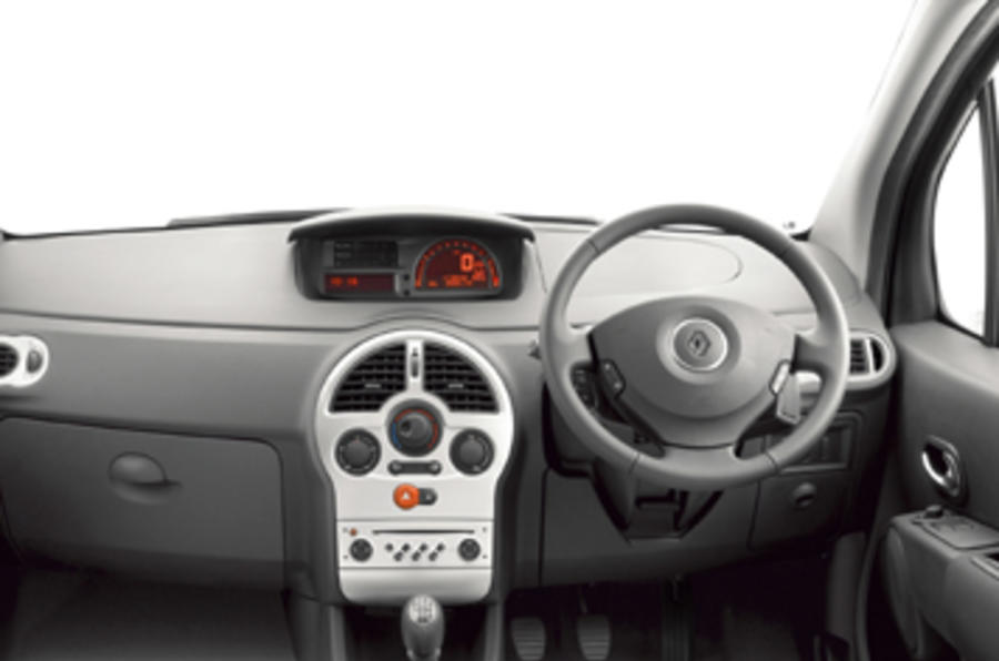 renault grand modus 1 5 dci review autocar. Black Bedroom Furniture Sets. Home Design Ideas