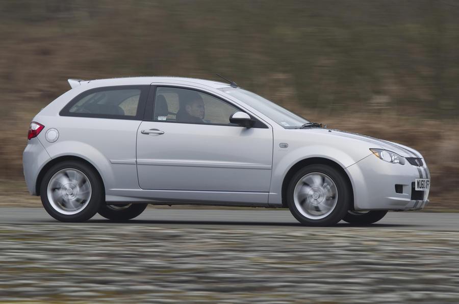 Proton Satria Neo Sport side profile