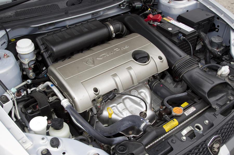 1.6-litre Proton Satria Neo Sport engine