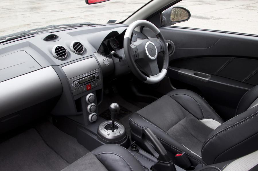 Proton Satria Neo Sport interior
