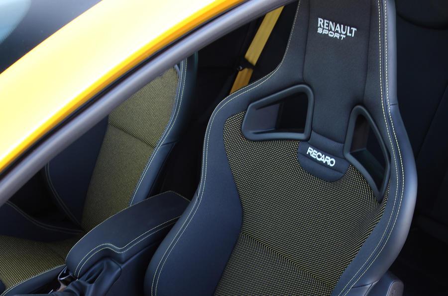 Renaultsport Megane 265 Cup Recaro seats
