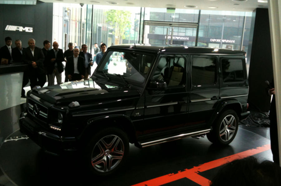 Revised Mercedes G-class revealed