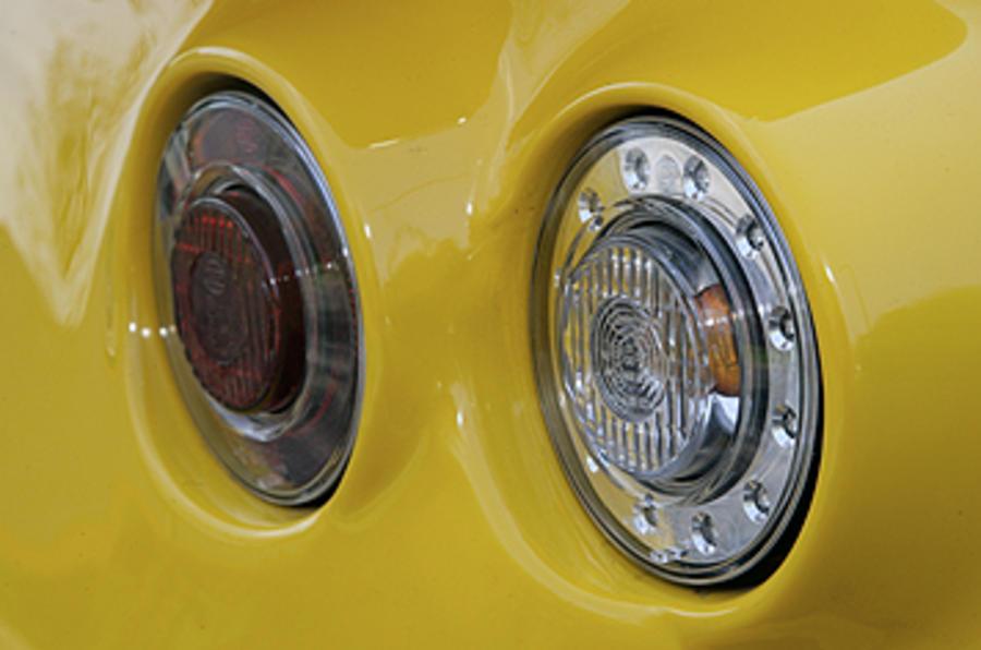 Westfield 1600 Sport Turbo rear lights