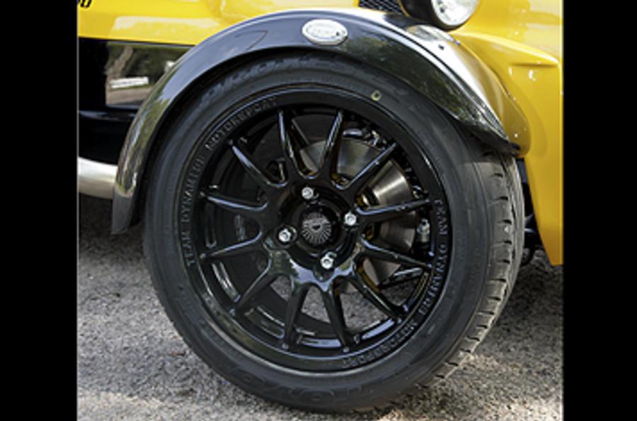 Westfield 1600 Sport Turbo alloy wheels