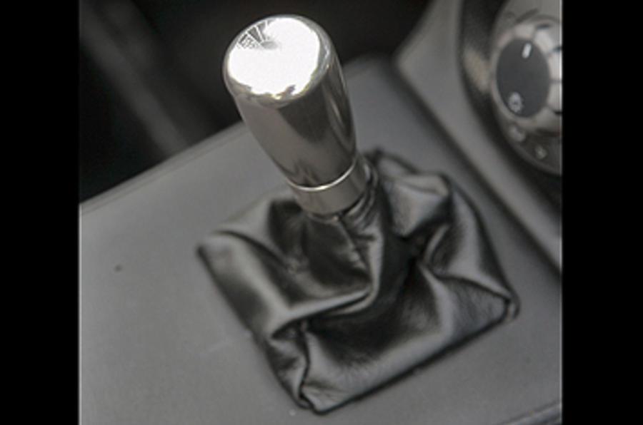 Westfield 1600 Sport Turbo manual gearbox