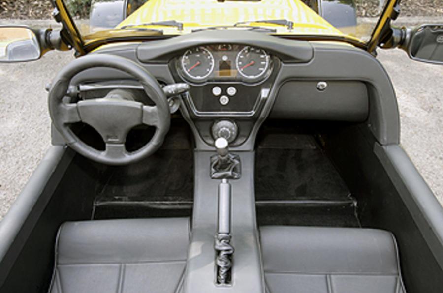 Westfield 1600 Sport Turbo dashboard