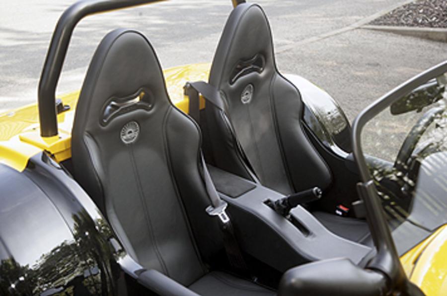 Westfield 1600 Sport Turbo seats