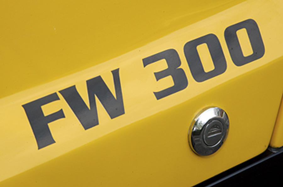 Westfield 1600 Sport Turbo badging
