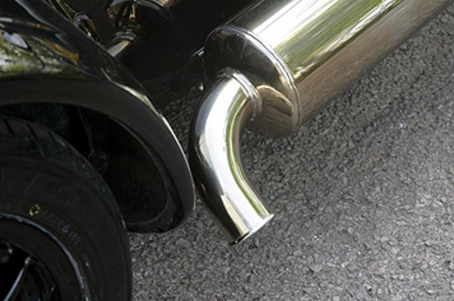 Westfield 1600 Sport Turbo side exhaust