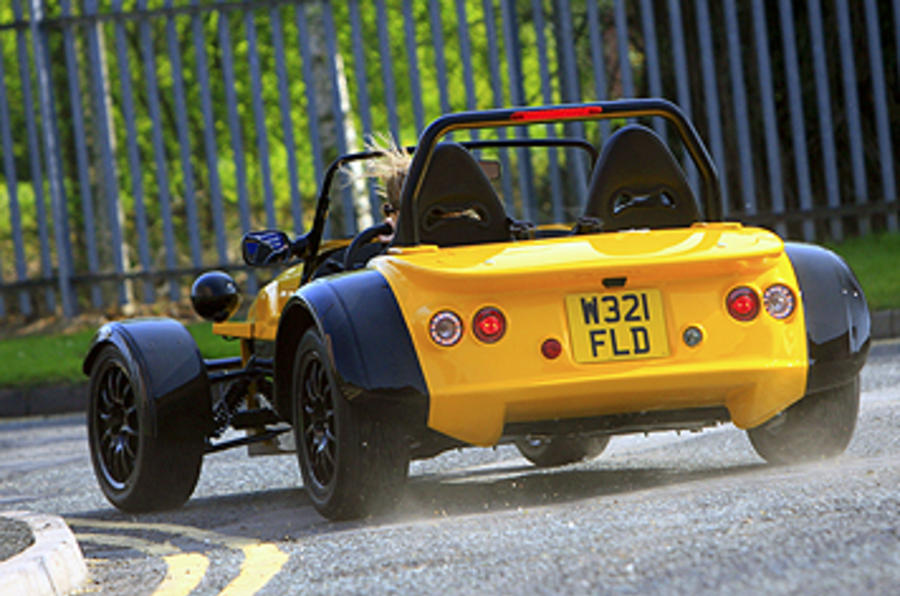 Westfield 1600 Sport Turbo rear cornering