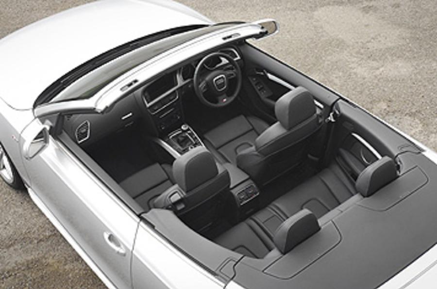 Audi A5 interior