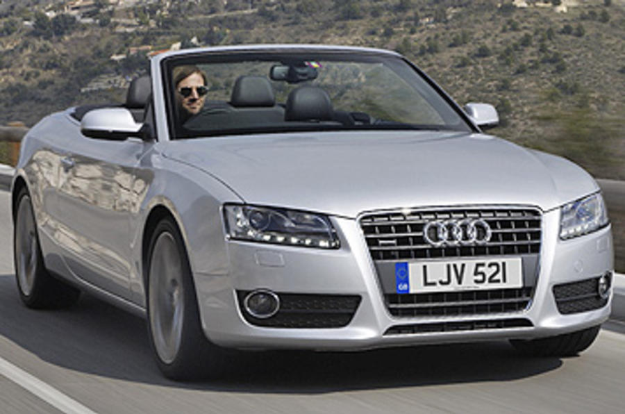 audi a5 3 0 tdi s line cabrio review autocar. Black Bedroom Furniture Sets. Home Design Ideas