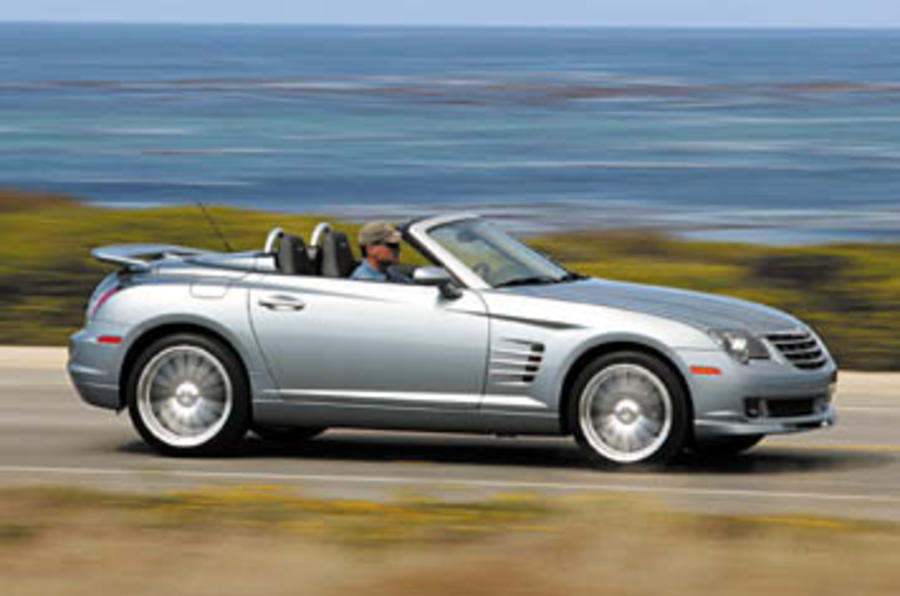 Chrysler crossfire roadster srt 6 review autocar
