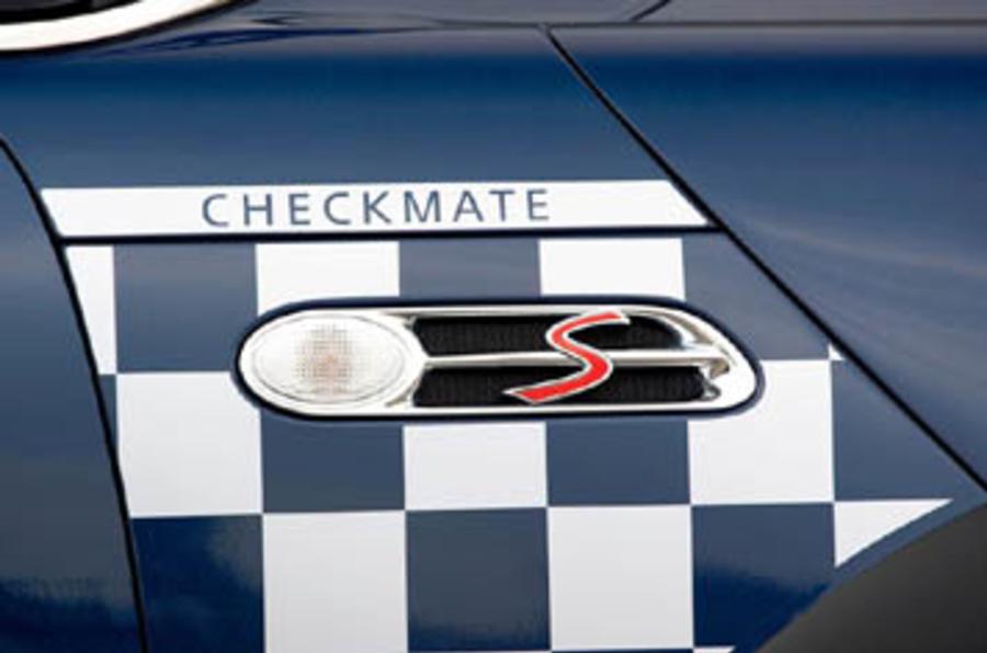 Mini Cooper S Checkmate