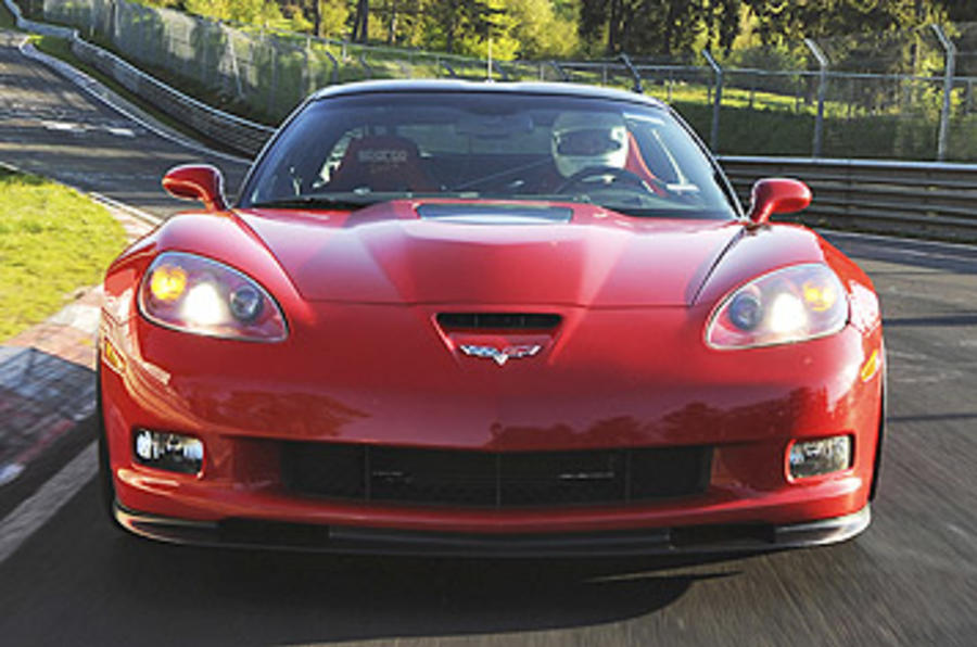 Corvette ZR1 front end