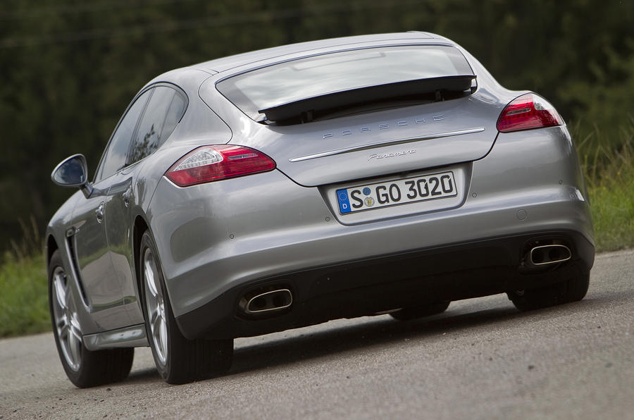 Porsche Panamera rear