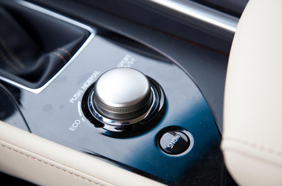 Lexus GS 250 infotainment