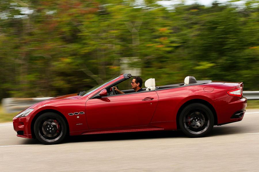 £102,615 Maserati Grancabrio Sport