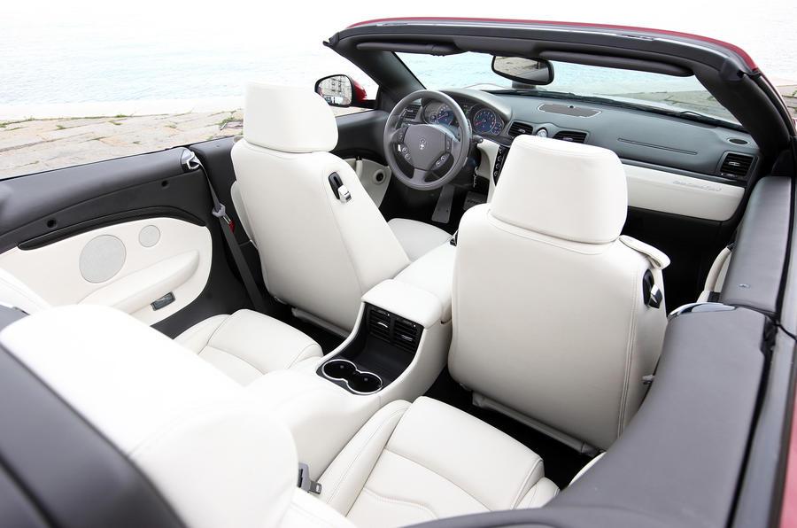 Maserati Grancabrio Sport rear seats