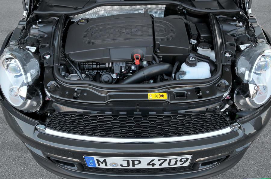 1.6-litre Mini Coupé Cooper SD engine