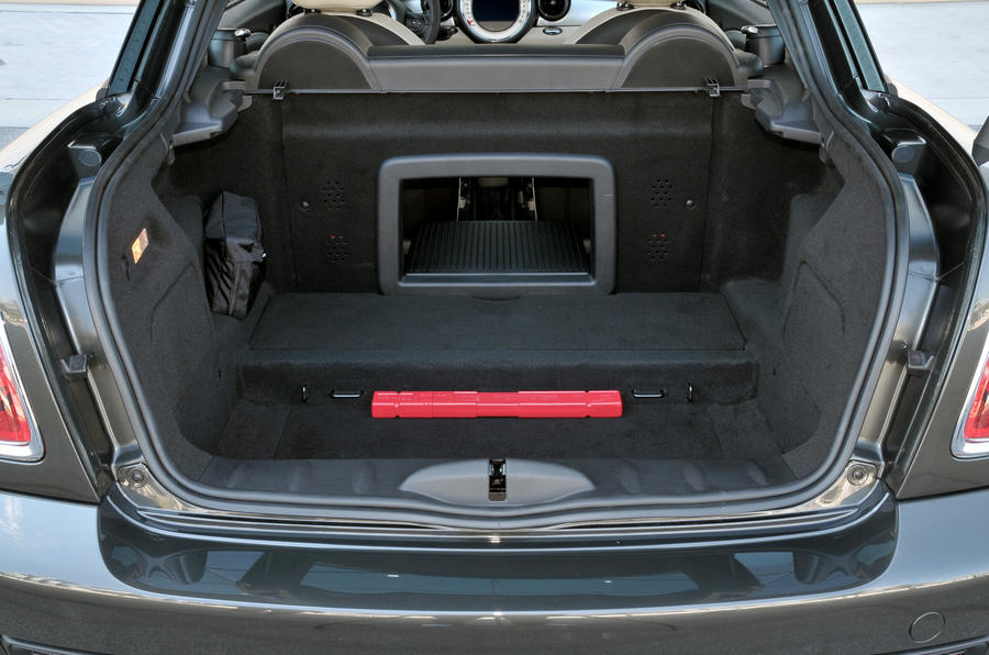 Mini Coupe Cooper SD boot space