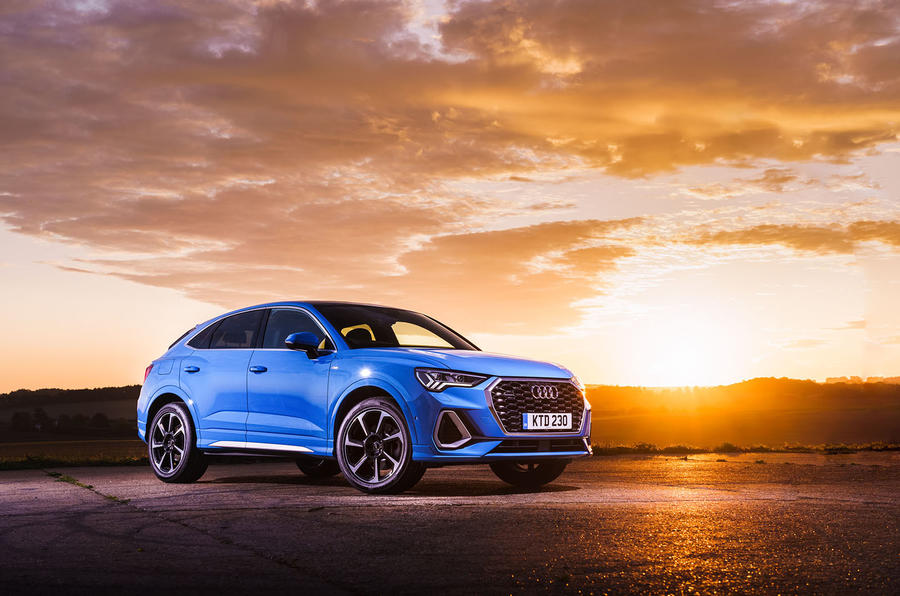 Audi Q3 Sportback 2019 road test review - static front
