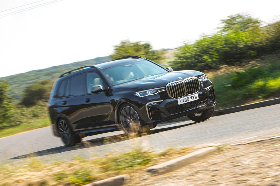 BMW X7 2020 : examen de l'essai routier - les virages à l'avant
