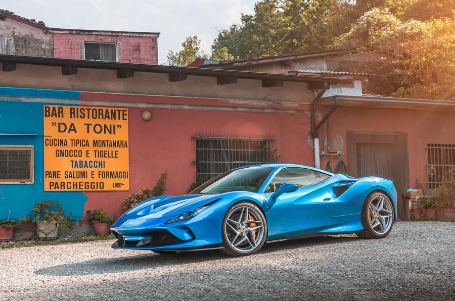 Ferrari F8 Tributo 2019 road test review - static front