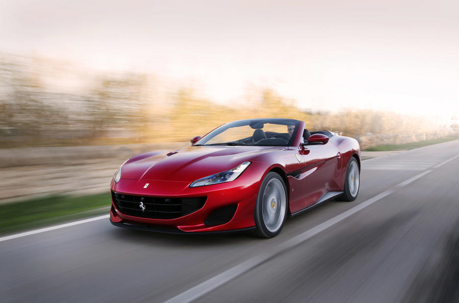 Ferrari Portofino review on the road speed