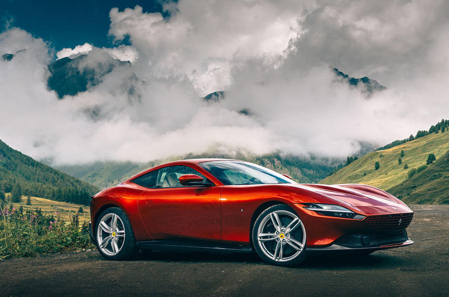 Ferrari Roma 2020 road test review - static