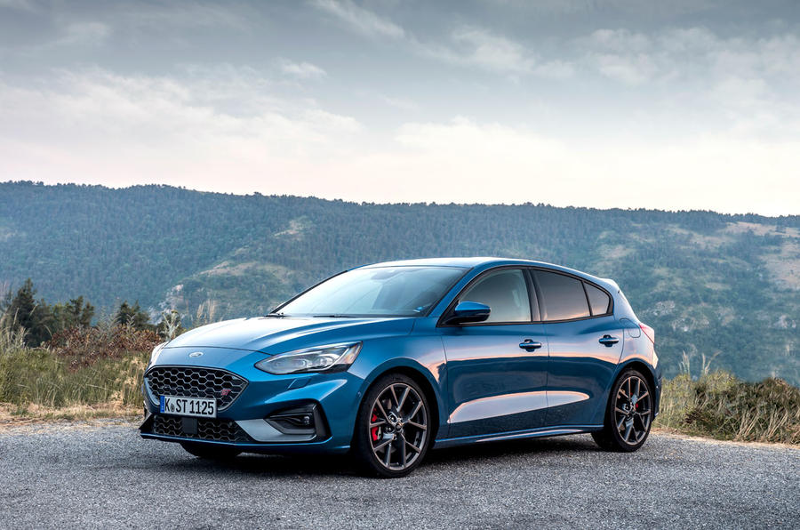 Ford Focus ST 2019 review - static front