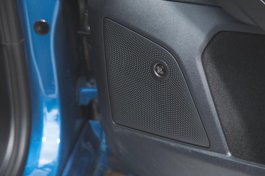 Ford Focus ST 2019 road test - speakers