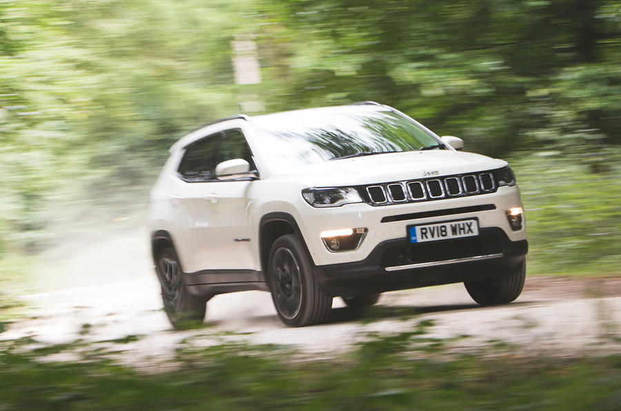Jeep Compass 2018 road test review - cornering front